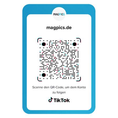 TikTok QR Code Sticker